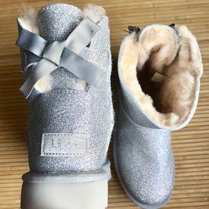UGG Mini Bailey Sparkle Bow Boots